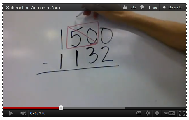 Math Subtraction Borrowing From Zero tricks of the teaching – Subtracting Across Zeros Worksheet 4th Grade