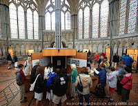 Magna Carta at Chapter House Salisbury Cathedral