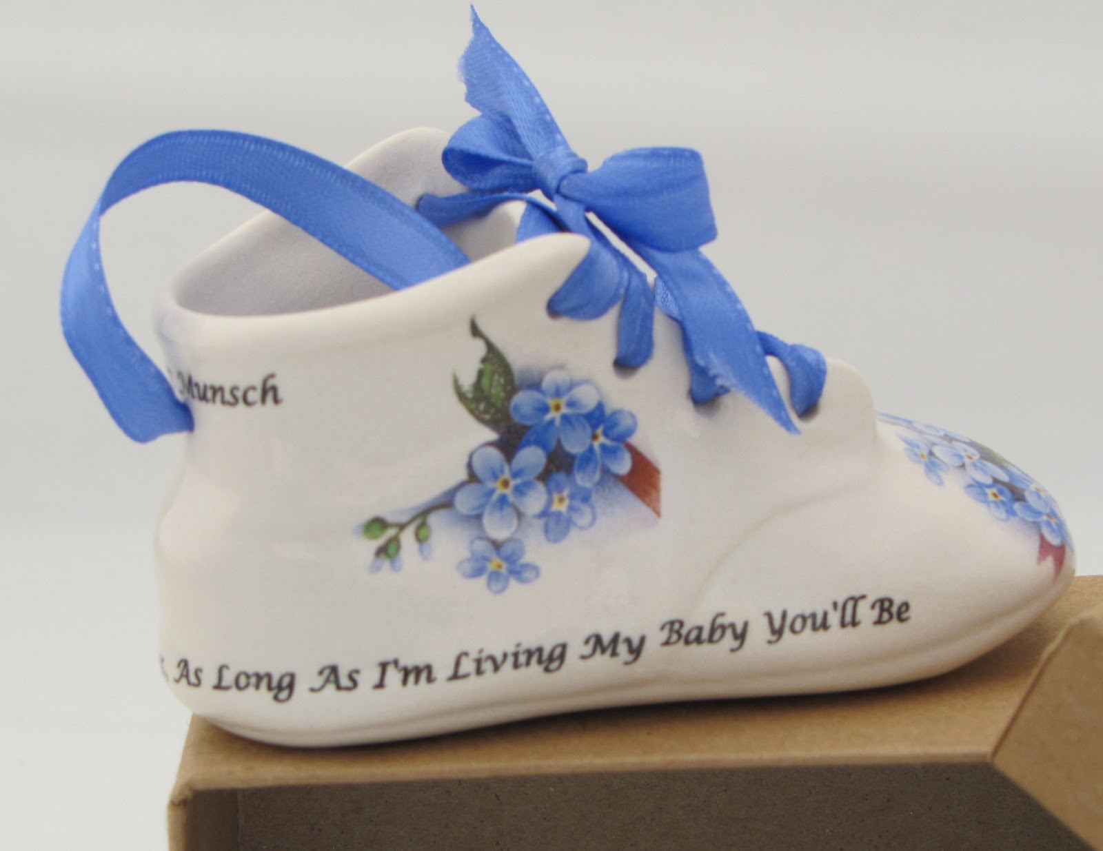 Janiscraft Personalized Porcelain Baby Shoes