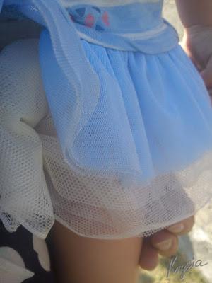 Krysia to uszyła - tiulowa spódniczka tutu