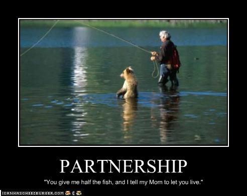 Funny quotes about bears quotesgram for Funny fishing quotes