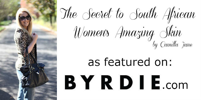 Jane Wonder || The Secret to South African Women's Amazing Skin, as featured in Byrdie.com
