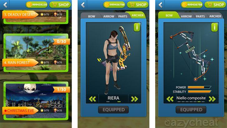 Kim Archery Master 3D Cheats