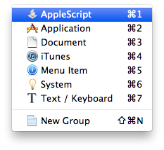 Spark: Gear Menu>New Hotkey>Applescript