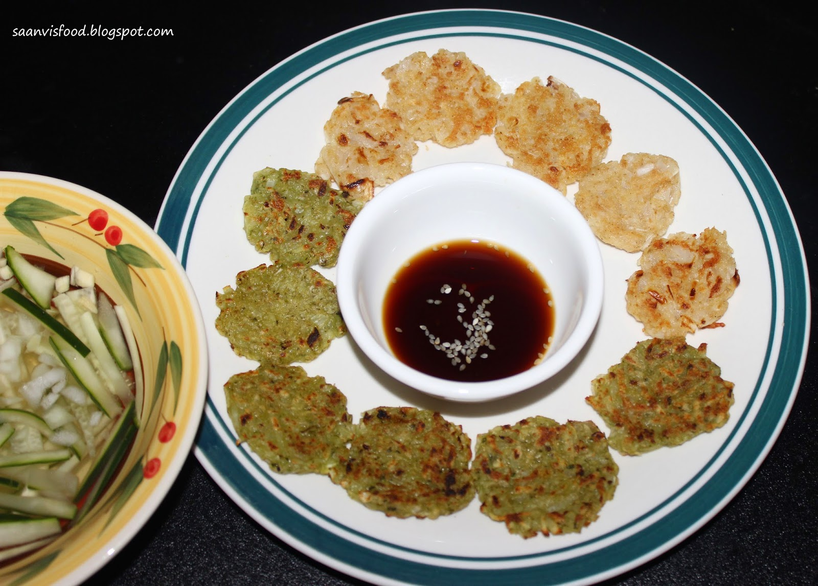 Korean Potato Pancakes/ Gamjajeon