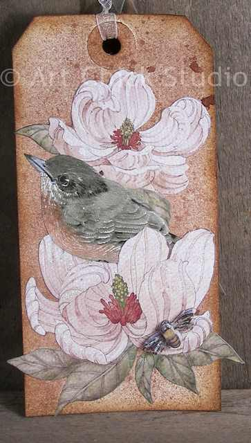 Birdsong Altered Tag