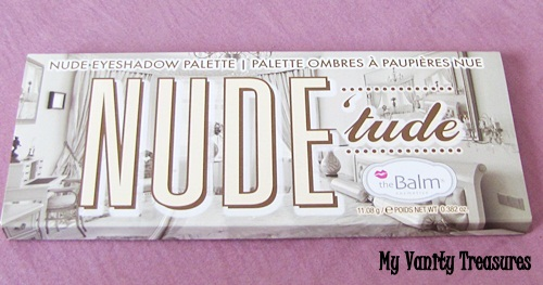 theBalm Nude Tude Eyeshadow Palette Review