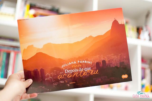 [Conhecendo a autora] Juliana Parrini e seus lançamentos