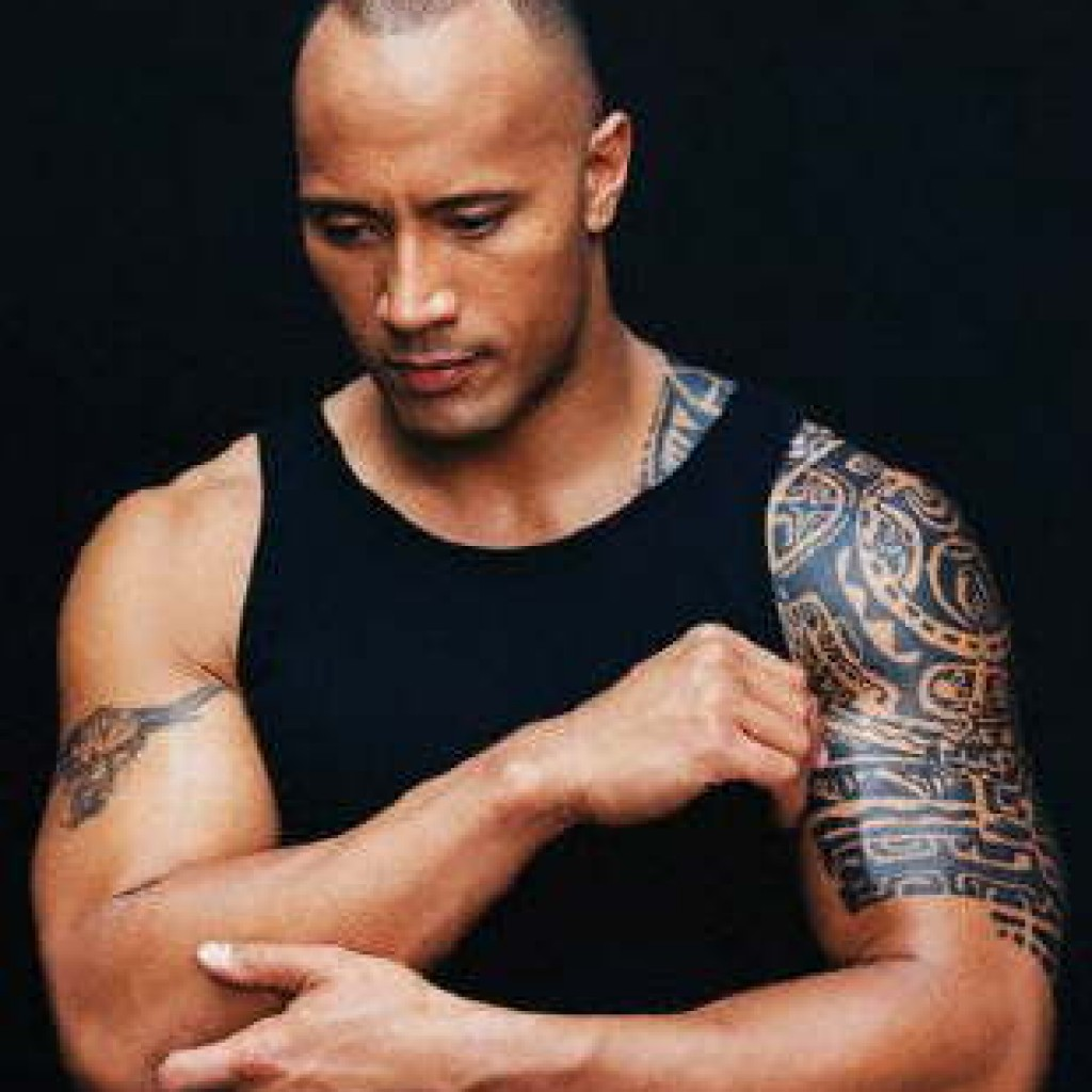 dwayne johnson the rock johnson was a university jock in