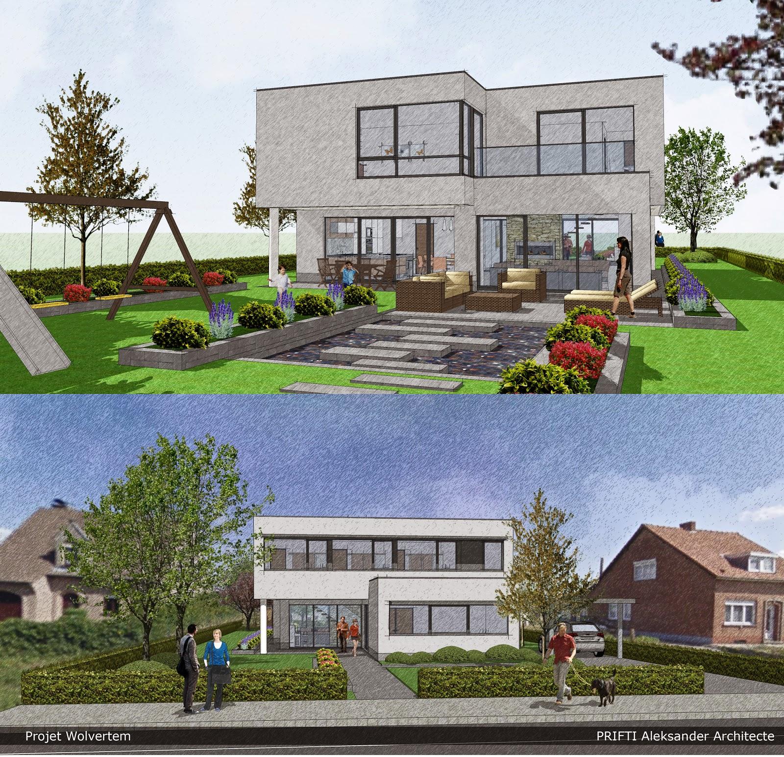 Plan de maison unifamiliale for Agrandissement maison zone nh