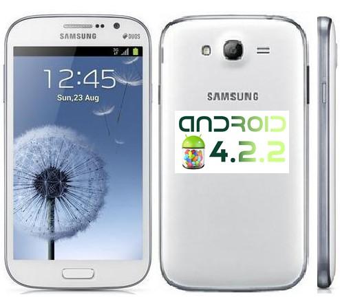 Iniziato l'aggiornamento alla versione jelly bean 4.2.2 per il phablet dual sim di Samsung