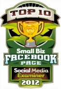 Award Winning Facebook Page!