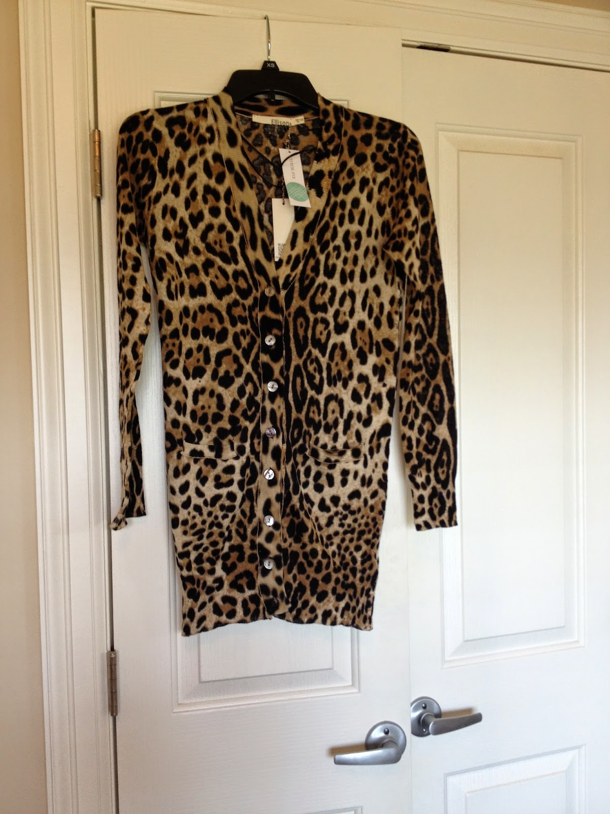 Ellison Davis Leopard Print Button-Up Cardigan StitchFix