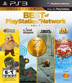 best of playstation network vol 1 box art Best of PlayStation Network Vol. 1 Announced For PS3 + Box Art