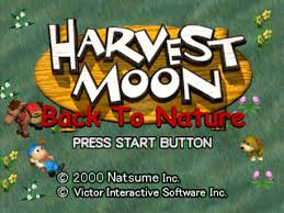 Download Game Harvest Moon : Back to Nature