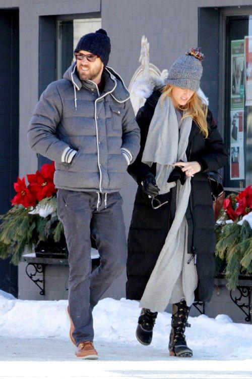 Celeb Diary Blake Lively Amp Ryan Reynolds In Sudbury Canada