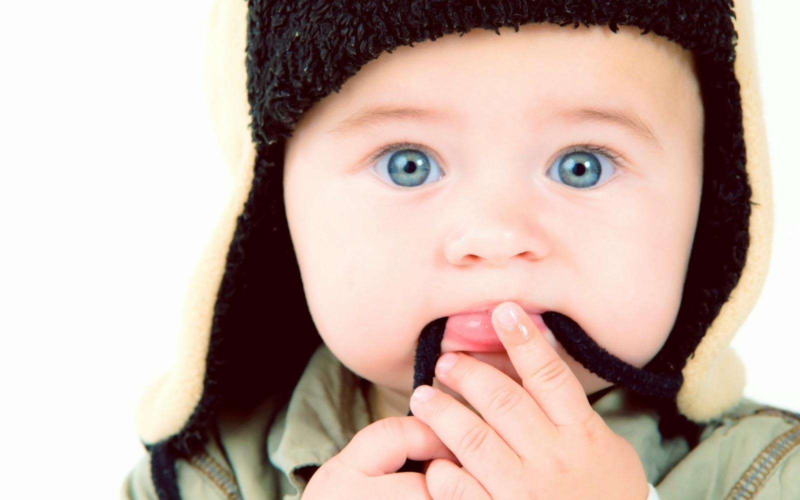 Cute Baby With Blue Eyes Collection