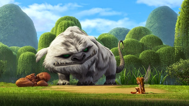Zvonilka a tvor Netvor (Tinker Bell and the Legend od the Neverbeast)– Recenze