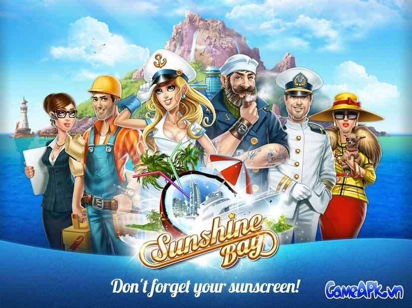 Sunshine Bay v1.33 hack full tiền cho Android