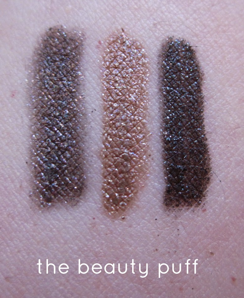 physicians formula extreme shimmer liners nude swatch - the beauty puff