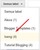 Cara Menghapus Semua Label Yang Sama Pada Postingan Blog Sekaligus