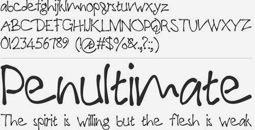 Stylish Handwriting Fonts
