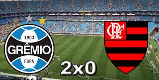 Grêmio 2x0 Flamengo