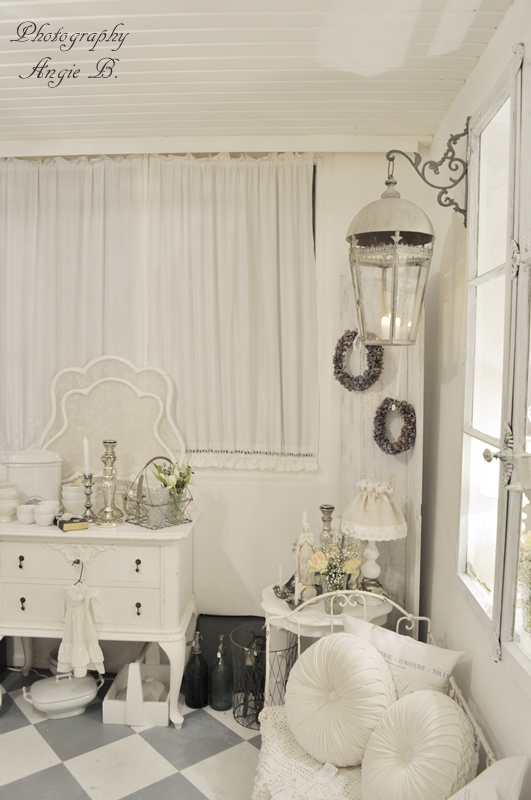 Mi baul vintage chic ideas para decorar white world dreams come true - Decorar baul vintage ...