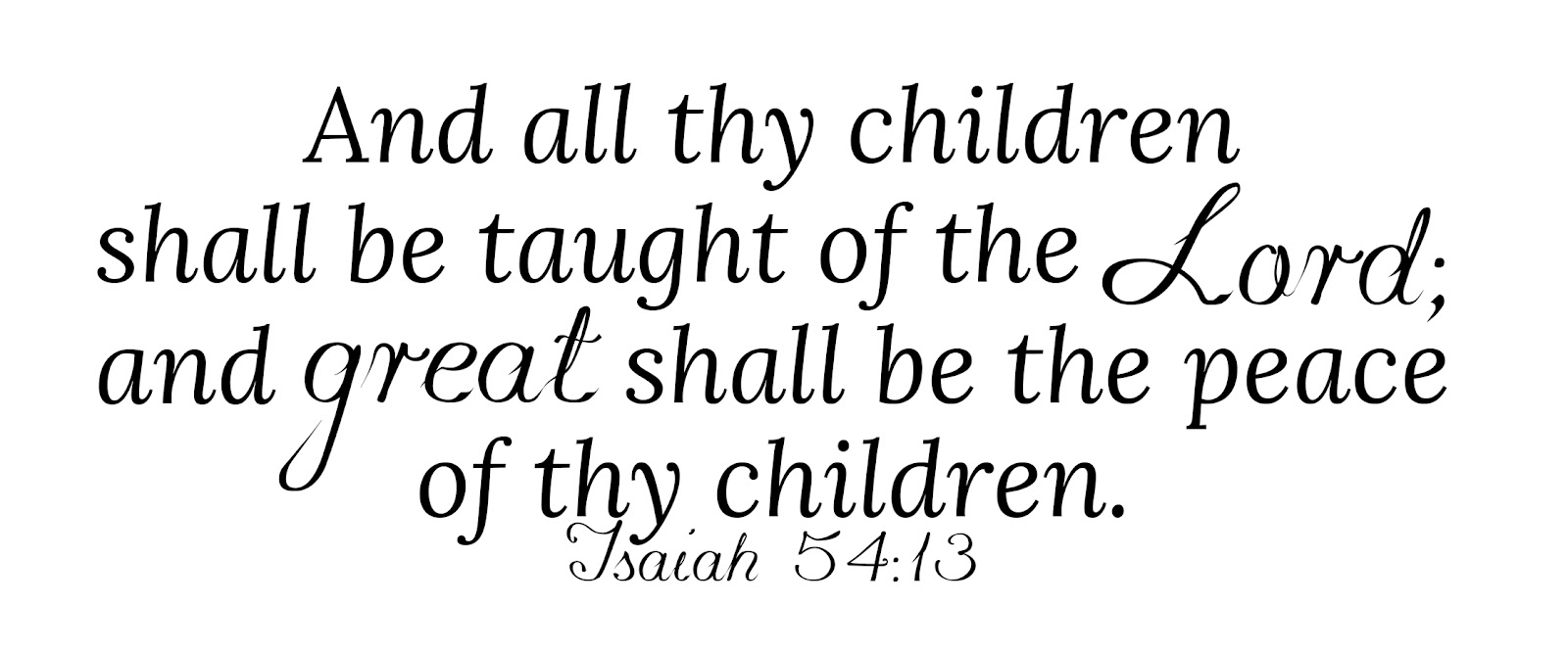 instruct a child in the way