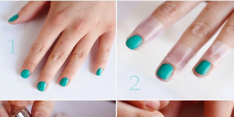 Cute Water Marble Nail Art Tutorial For School GIrls - Emaggy