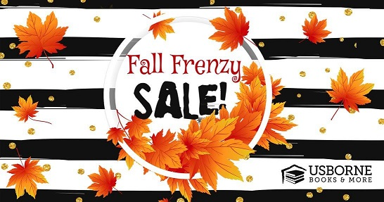 Don't Miss This Great Fall Frenzy Sale Over At Usborne...