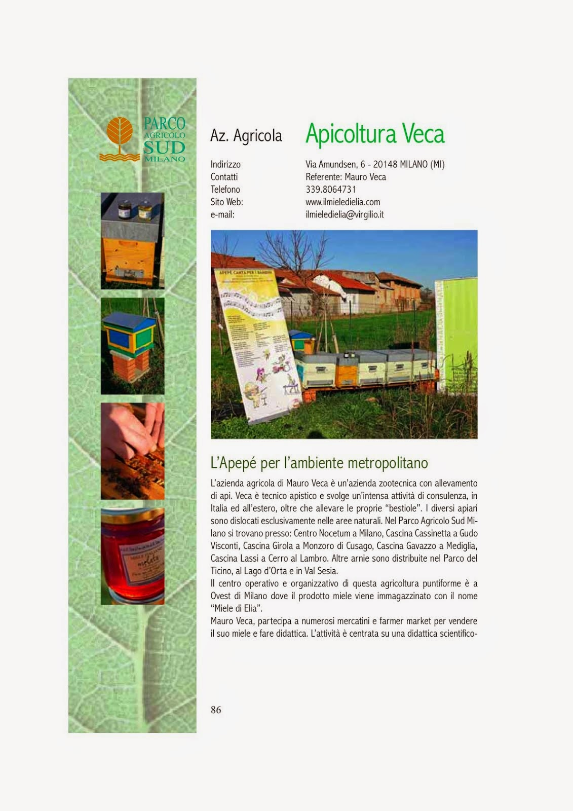 APICULTURA VECA