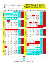 CALENDARI ESCOLAR 2016-2017