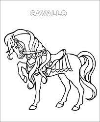 Immagini di cavalli da colorare for Immagini cavalli da disegnare