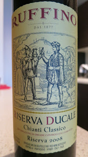Label photo of 2008 Ruffino Chianti Classico Riserva Ducale from Tuscany, Italy