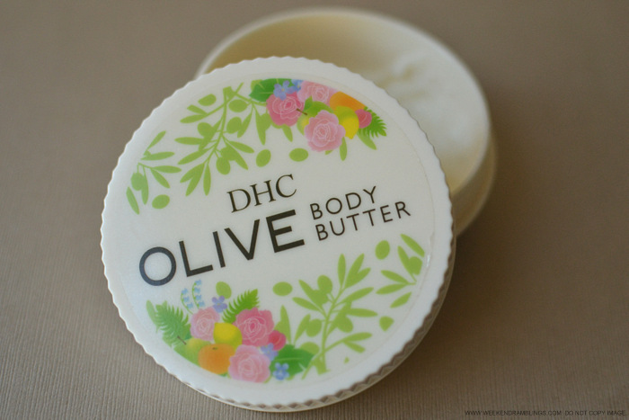 DHC Olive Oil Body Butter Moisturizer for Winters Dry Skin