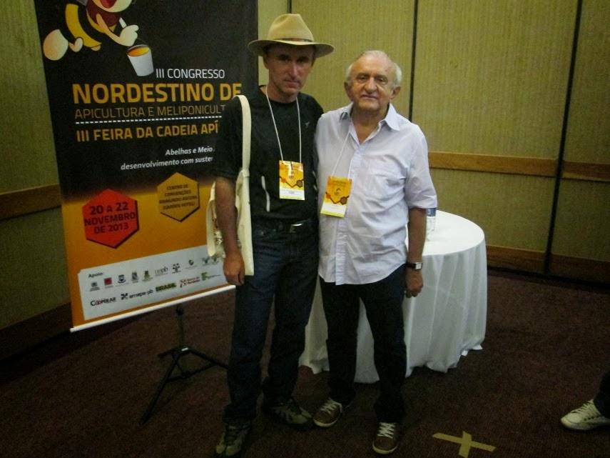 Eu e Paulo Menezes,grande mestre das jandaíras.