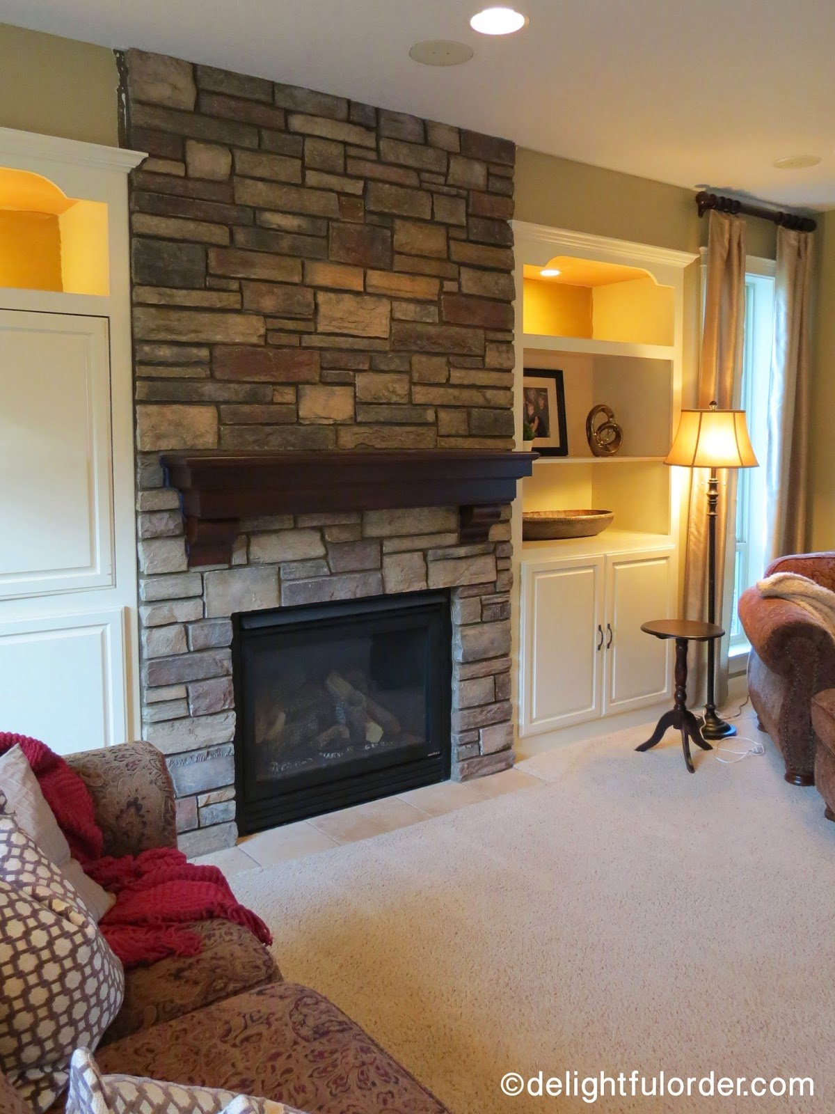 delightful order new fireplace and mantel