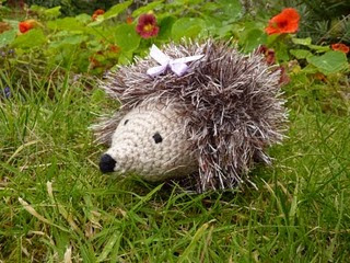 Sparkly Hedgehog Knitting Pattern : Yellow, Pink and Sparkly: Free Crochet Patterns