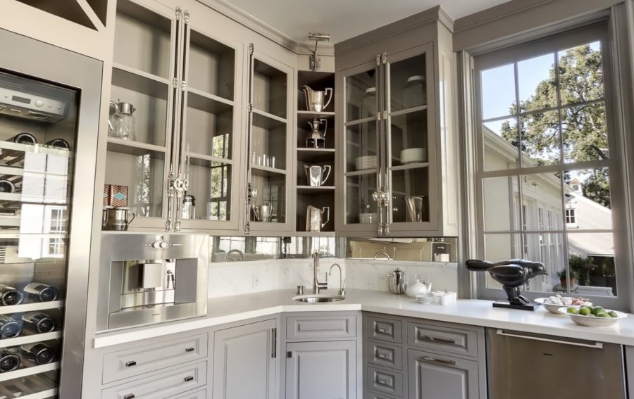 Perfect Gray Gray Wet Bar