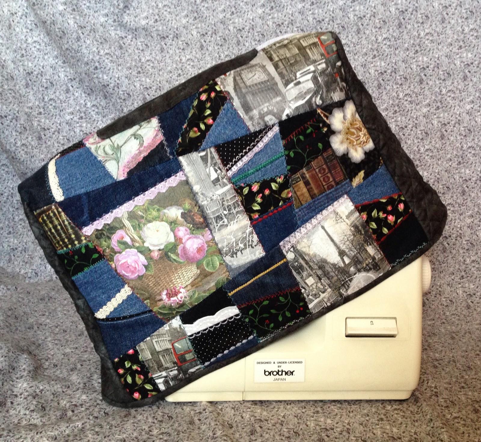 Чехол на швейную машинку из джинса своими руками