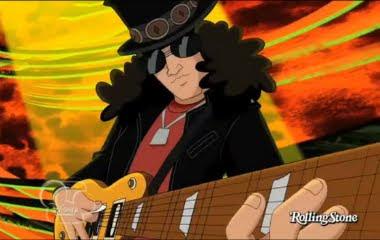 Slash em desenho animado