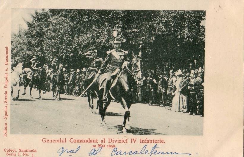 Generalul Comandant al Diviziei IV Infanterie - 10 mai 1898