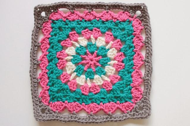 Free Crochet Patterns: Free Crochet Granny Square Motif ...