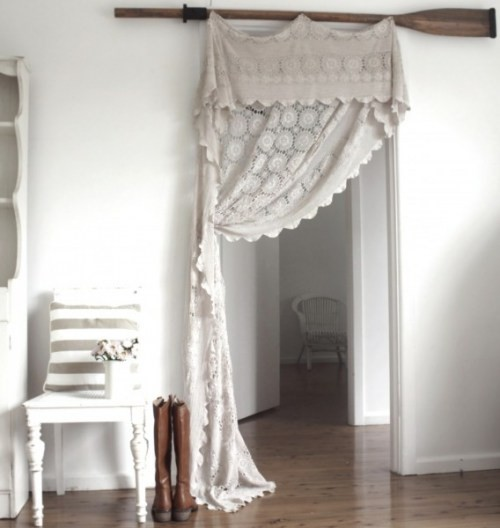 Cottage Bedroom Curtain Ideas: Shabby In Love: Shabby Window Treatments
