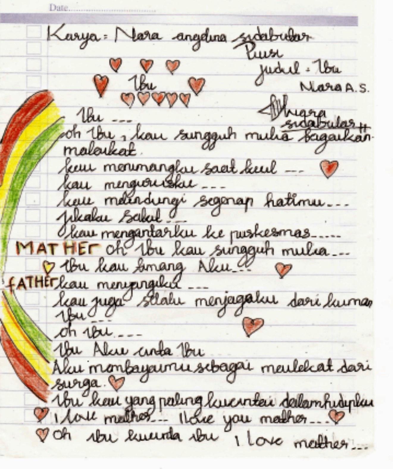 puisi cinta menyentuh hati banget
