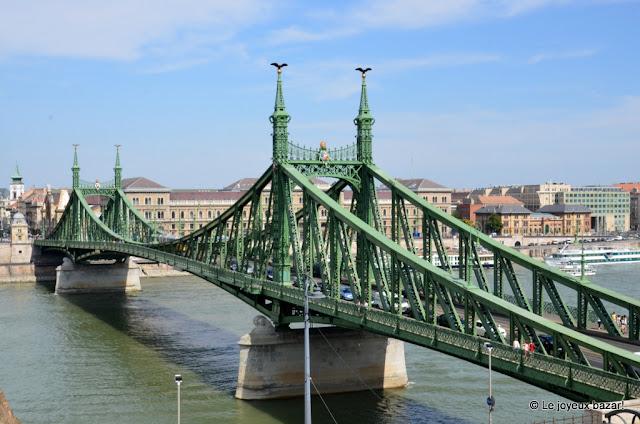 Budapest - le Pont de la Liberté