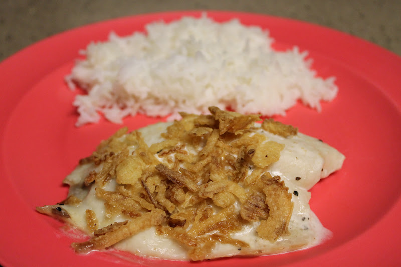 Living a changed life recipe review baked ranch tilapia for Is tilapia a fake fish