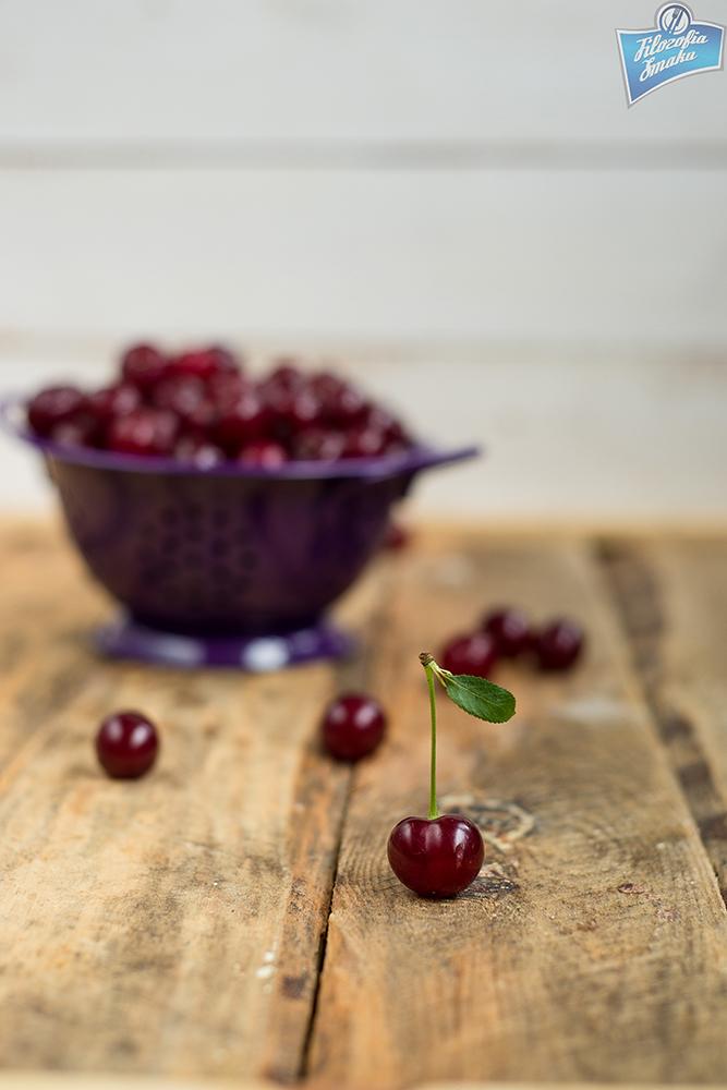 Frużelina z wiśniami przepis