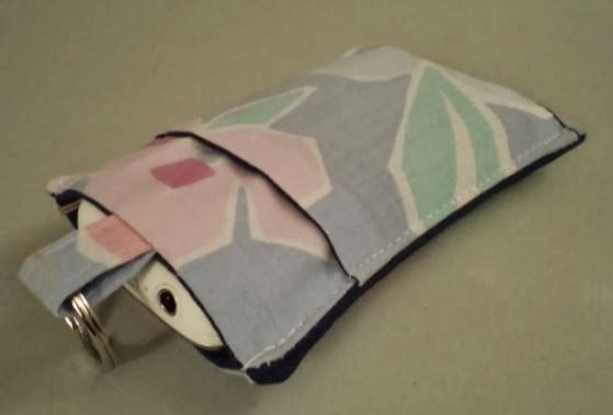 Erin Erickson inspired cellphone sleeve crafted by eSheep Designs